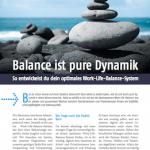 Balance ist pure Dynamik